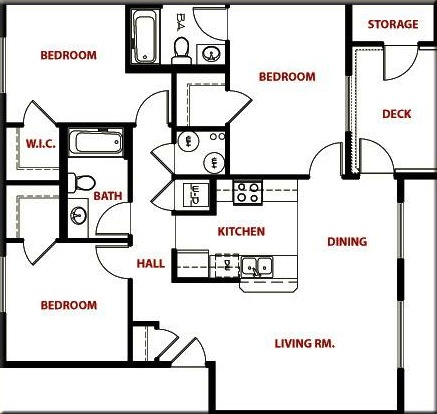 Brookside Park Apartments Rental Floor Plans Best