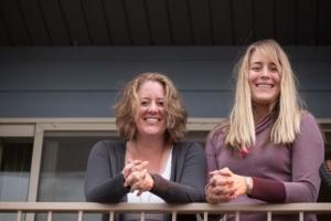 happy friends at Bridger Property